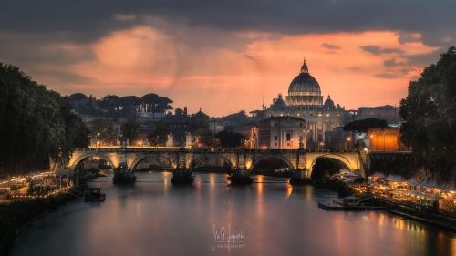 San-Pedro-desde-Puente-Umberto-Roma